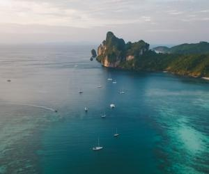 Areal Phi Phi Islands Thailand